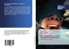 Bookcover of Full mouth Rehabilitation: Concepts & Techniques