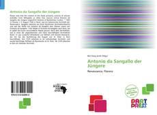 Buchcover von Antonio da Sangallo der Jüngere