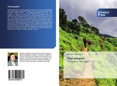 Portada del libro de Thai peoples