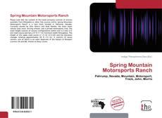 Spring Mountain Motorsports Ranch kitap kapağı