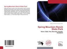 Buchcover von Spring Mountain Ranch State Park