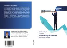 Bookcover of Forecasting techniques