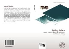 Bookcover of Spring Palace