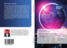 Bookcover of Mobile adhoc networks