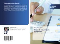 Bookcover of Property insurance in Cameroon