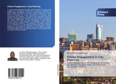 Bookcover of Citizen Engagement in City Planning