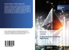 Crypto Analysis of Cipher Algorithms kitap kapağı