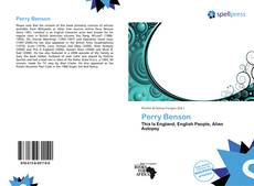 Bookcover of Perry Benson