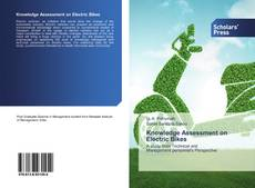 Bookcover of Knowledge Assessment on Electric Bikes