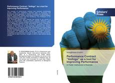 """Bookcover of Performance Contract """"Imihigo"""" as a tool for Improving Performance"""