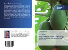 Bookcover of Papain Production Technology
