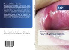 Bookcover of Recurrent Aphthous Stomatitis