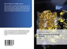 Bookcover of Role of Vitamin D in Vitiligo: Review