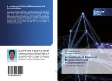 Buchcover von A Handbook of Electrical Measurement and Instrumentation