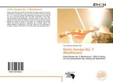 Обложка Violin Sonata No. 7 (Beethoven)