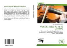 Capa do livro de Violin Sonatas, Kv 10-15 (Mozart)