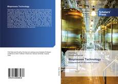 Couverture de Bioprocess Technology
