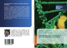 Capa do livro de Feronia limonia - A source of diverse bioactive principles