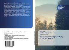 Couverture de Ethnopharmacological study of Saraca asoca