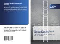 Capa do livro de Placement Test Results and Learners' Motivation