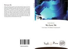 Portada del libro de We Love Tlc