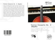 Capa do livro de Violin Concerto No. 4 (Haydn)