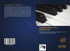 Portada del libro de Violin Romance No. 1 (Beethoven)