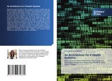 Capa do livro de An Architecture for E-Health Systems