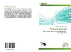 Buchcover von We Punk Einheit!
