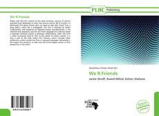 Buchcover von We R Friends
