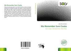 Capa do livro de We Remember Sam Cooke