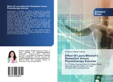 Buchcover von Effect Of Laura Mitchell's Relaxation Versus Physiotherapy Exercise