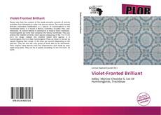 Bookcover of Violet-Fronted Brilliant