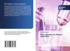 EPS sulphation for Biotech application kitap kapağı