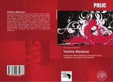 Portada del libro de Violeta Menjívar