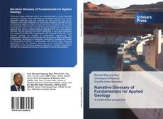 Bookcover of Narrative Glossary of Fundamentals for Applied Geology