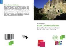 Portada del libro de Baby, Gmina Odolanów