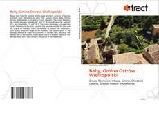 Portada del libro de Baby, Gmina Ostrów Wielkopolski
