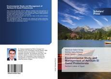 Capa do livro de Environmental Study and Management of Ashitum El Gamil Protectorate