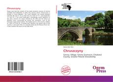 Bookcover of Chruszczyny