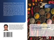Bookcover of Antibacterial Activity of Spices used in Kacchila