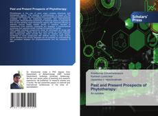 Capa do livro de Past and Present Prospects of Phytotherapy: