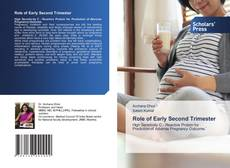 Buchcover von Role of Early Second Trimester