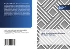 Buchcover von Grey Hybrid Multiple Attribute Decision Making