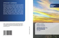 Borítókép a  APPROACHES To DEPRESSION - hoz