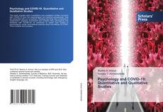 Psychology and COVID-19: Quantitative and Qualitative Studies kitap kapağı