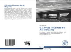 Bookcover of U.S. Route 1 Business (Bel Air, Maryland)