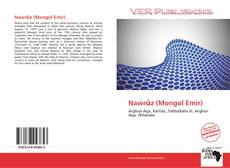 Bookcover of Nawrūz (Mongol Emir)