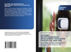 Portada del libro de ALPHABET ENTREPRENEURSHIP DEVELOPMENT INNOVATION CONCEPTUAL ANALYSIS