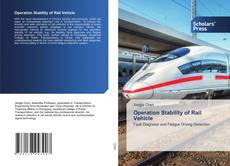 Bookcover of Operation Stability of Rail Vehicle